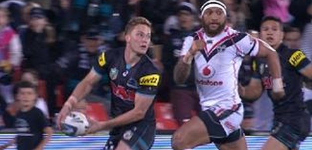 Full Match Replay: Penrith Panthers v Warriors (1st Half) - Round 26, 2014