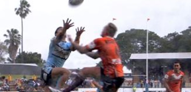 Full Match Replay: Wests Tigers v Cronulla-Sutherland Sharks (1st Half) - Round 26, 2014