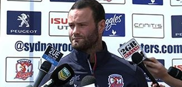 Cordner expects a massive forward battle