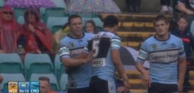 Rd 26: TRY Valentine Holmes (37th min)