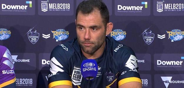 Melbourne Storm post match press conference