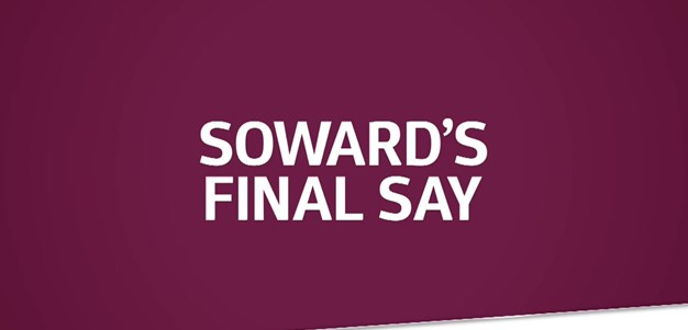 Soward's say on 2018 Sea Eagles