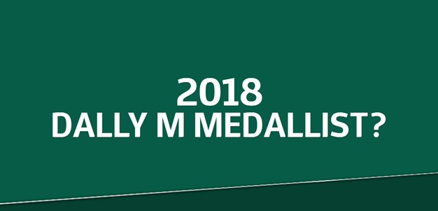 Who will be the 2018 Dally M Medallist?