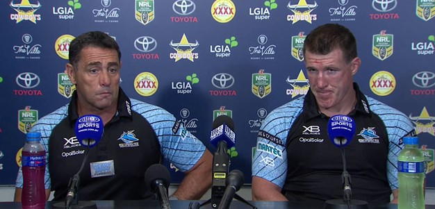 Sharks press conference