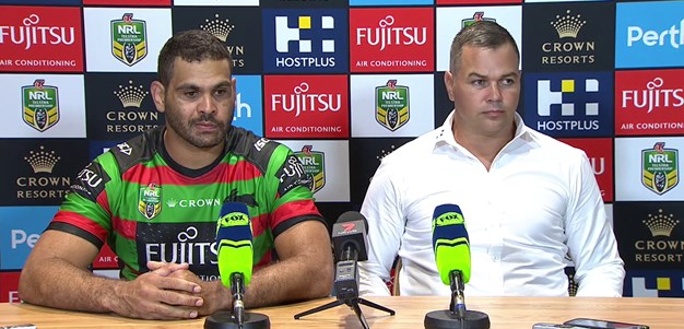 Rabbitohs press conference