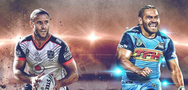 Warriors v Titans
