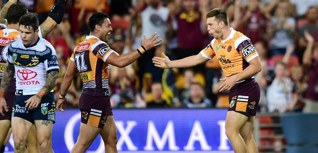Freakish bounce gifts Broncos lead