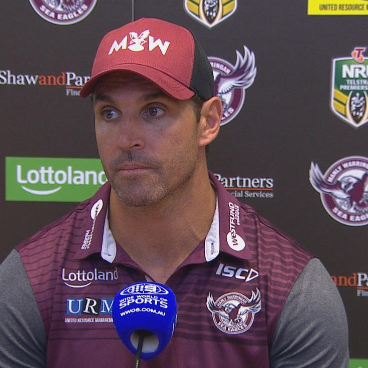 Manly press conference