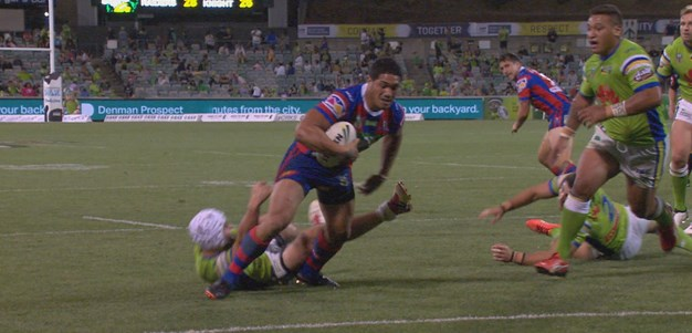 Mata'utia gives the Knights the lead
