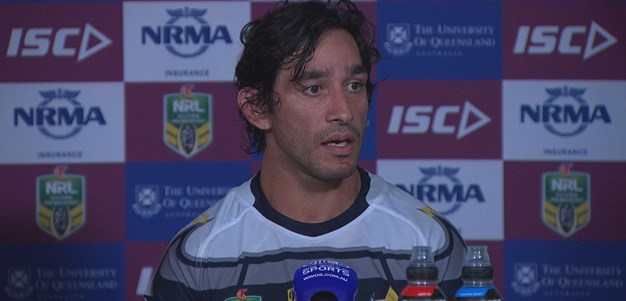 Thurston admits Broncos 'started blowing us apart'