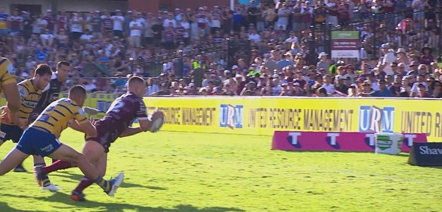 Manly brings up 40 points