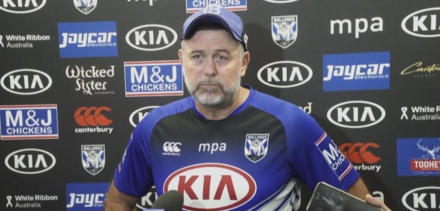 Pay unhappy with Bulldogs' start