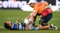 Hayne sidelined by hip flexor injury