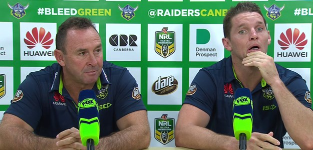 Raiders press conference - Round 3