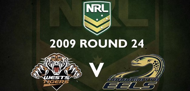 Footy Flashback: 2009 Rd 24 Tigers v Eels