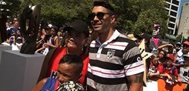 Auckland Nines Fan Day 2015