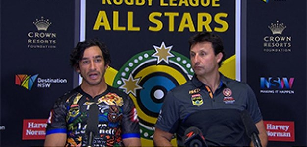 All Stars 2017: Indigenous All Stars Press Conference