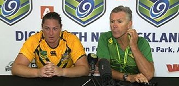 Australian Jillaroos Press Conference