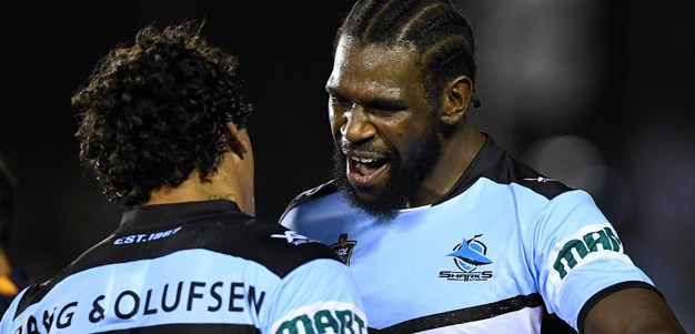 Ramien sets up Lee to get Sharks going