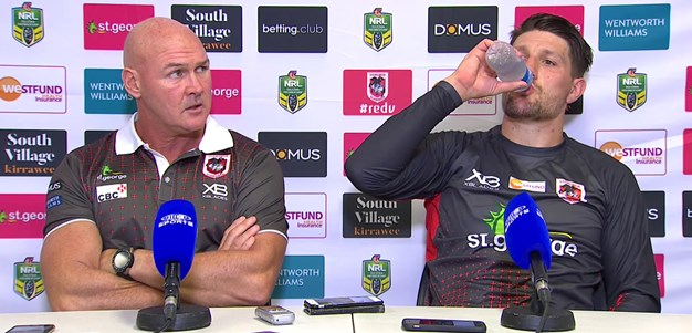 Dragons press conference - Round 4