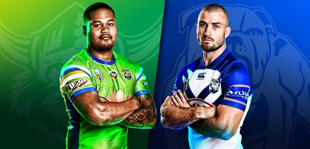 Raiders v Bulldogs - Round 5