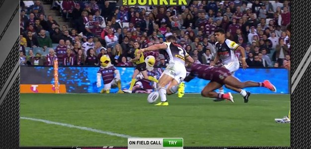 FW 1: Sea Eagles v Panthers - No Try 59th minute