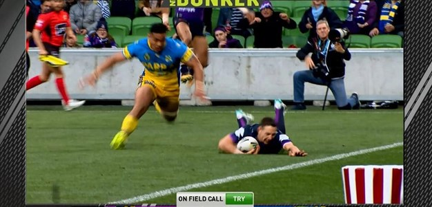 FW 1: Storm v Eels - Try 50th minute - Billy Slater