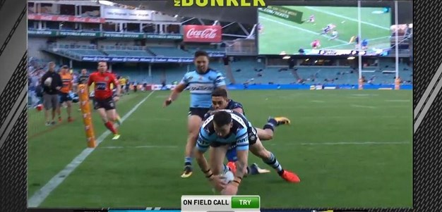 FW 1: Sharks v Cowboys - Try 56th minute - Jack Bird