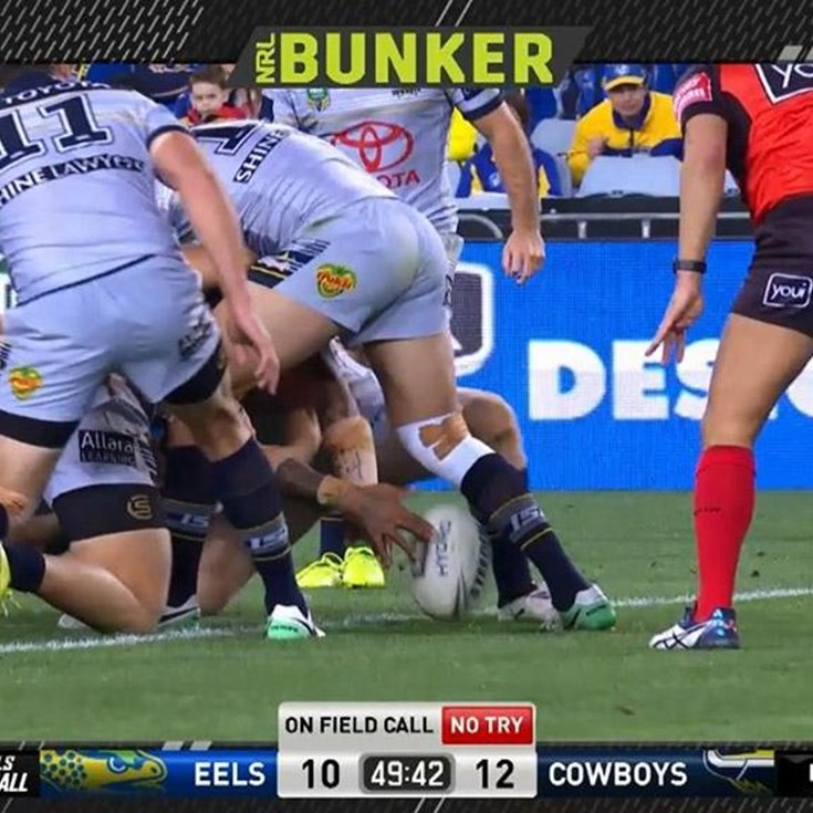 FW 2: Eels v Cowboys - No Try 50th minute