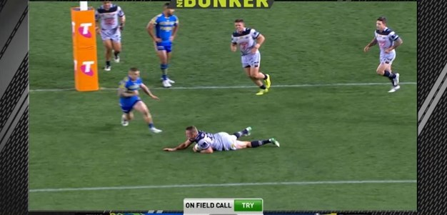 FW 2: Eels v Cowboys - Try 52nd minute - Coen Hess