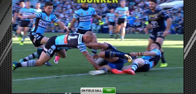 FW 1: Sharks v Cowboys - Try 3rd minute - Chad Townsend