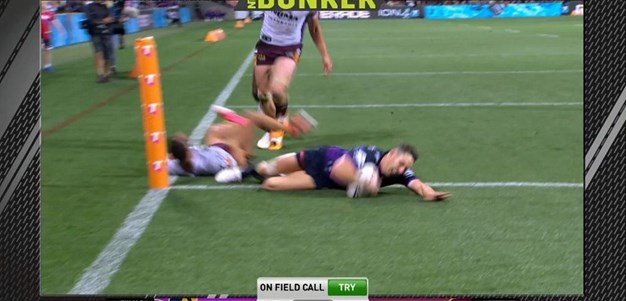 FW 3: Storm v Broncos - Try 60th minute - Billy Slater