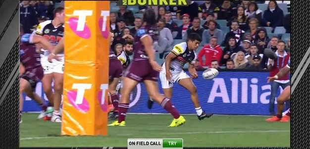 FW 1: Sea Eagles v Panthers - Try 74th minute - Tyrone Peachey