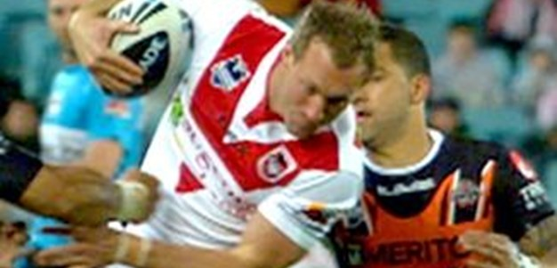 Full Match Replay: Wests Tigers v St George-Illawarra Dragons (1st Half) - Qualifying Final