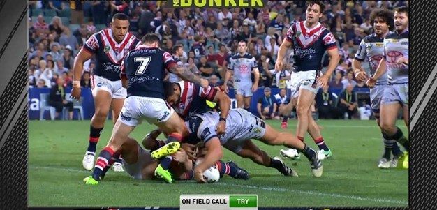 FW 3: Roosters v Cowboys - Try 80th minute - Scott Bolton