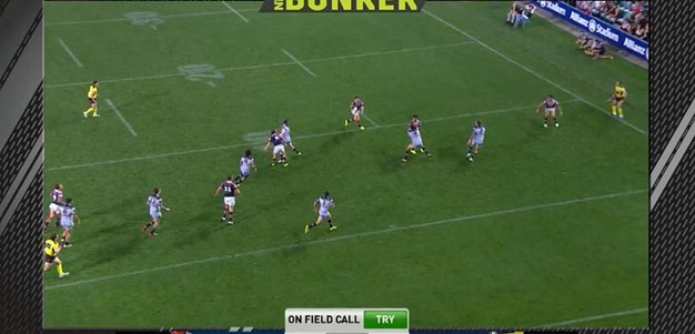 FW 3: Roosters v Cowboys - No Try 42nd minute