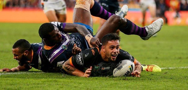 Aloiai scores Wests Tigers first