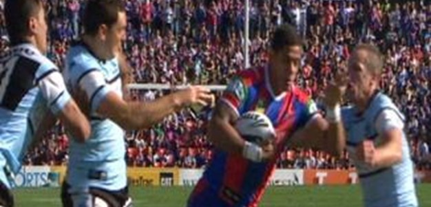 Full Match Replay: Newcastle Knights v Penrith Panthers (1st Half) - Round 8, 2013