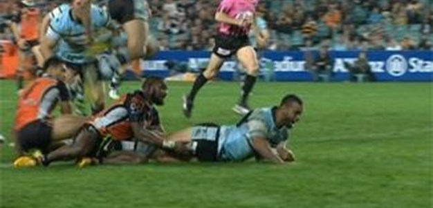 Full Match Replay: Wests Tigers v Cronulla-Sutherland Sharks (2nd Half) - Round 9, 2013