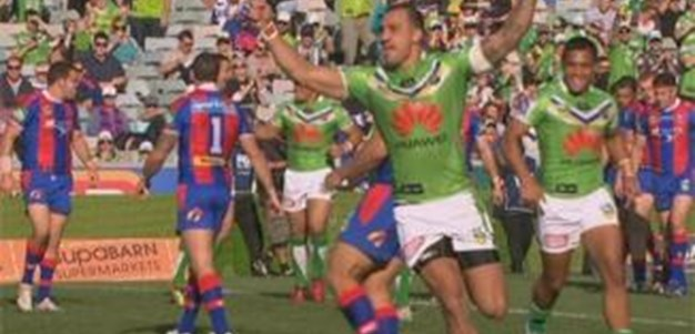 Full Match Replay: Canberra Raiders v Newcastle Knights (2nd Half) - Round 9, 2013