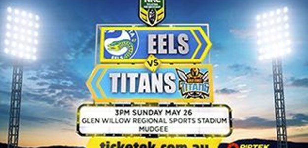 Eels and Titans to play in Mudgee