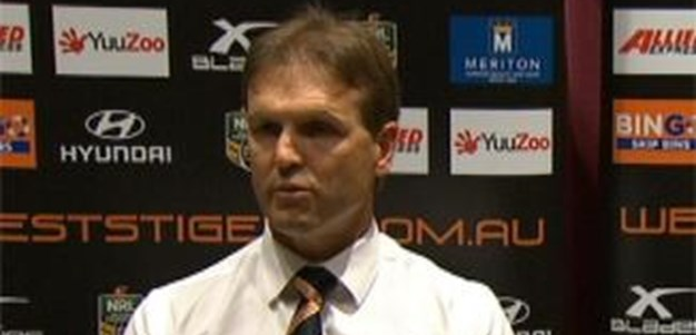 Rd 6: Press Conference Wests Tigers