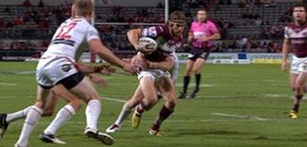 Full Match Replay: St George-Illawarra Dragons v Manly-Warringah Sea Eagles (1st Half) - Round 8, 2013