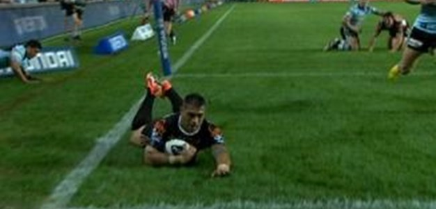 Full Match Replay: Wests Tigers v Cronulla-Sutherland Sharks (1st Half) - Round 9, 2013