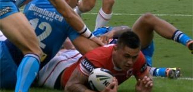 Full Match Replay: Gold Coast Titans v St George-Illawarra Dragons (1st Half) - Round 9, 2013