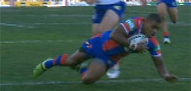 Full Match Replay: Newcastle Knights v Canterbury-Bankstown Bulldogs (1st Half) - Round 10, 2013
