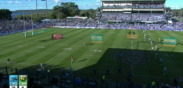 Full Match Replay: Cronulla-Sutherland Sharks v Canberra Raiders (2nd Half) - Round 10, 2013