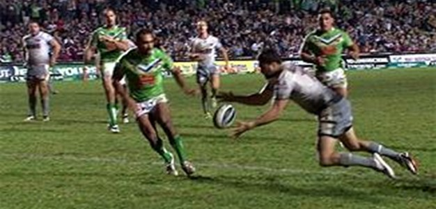 Full Match Replay: Manly-Warringah Sea Eagles v Canberra Raiders (2nd Half) - Round 11, 2013