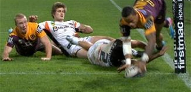 Full Match Replay: Brisbane Broncos v Wests Tigers (1st Half) - Round 14, 2013