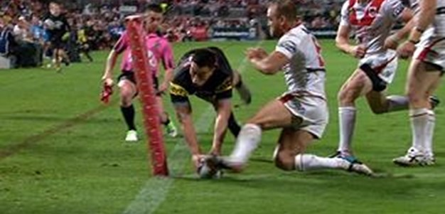 Full Match Replay: St George-Illawarra Dragons v Penrith Panthers (1st Half) - Round 11, 2013